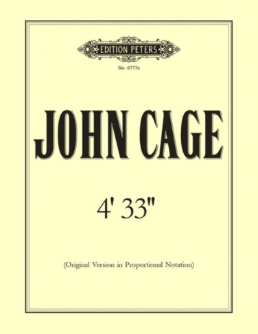 "John Cage 4' 33"""