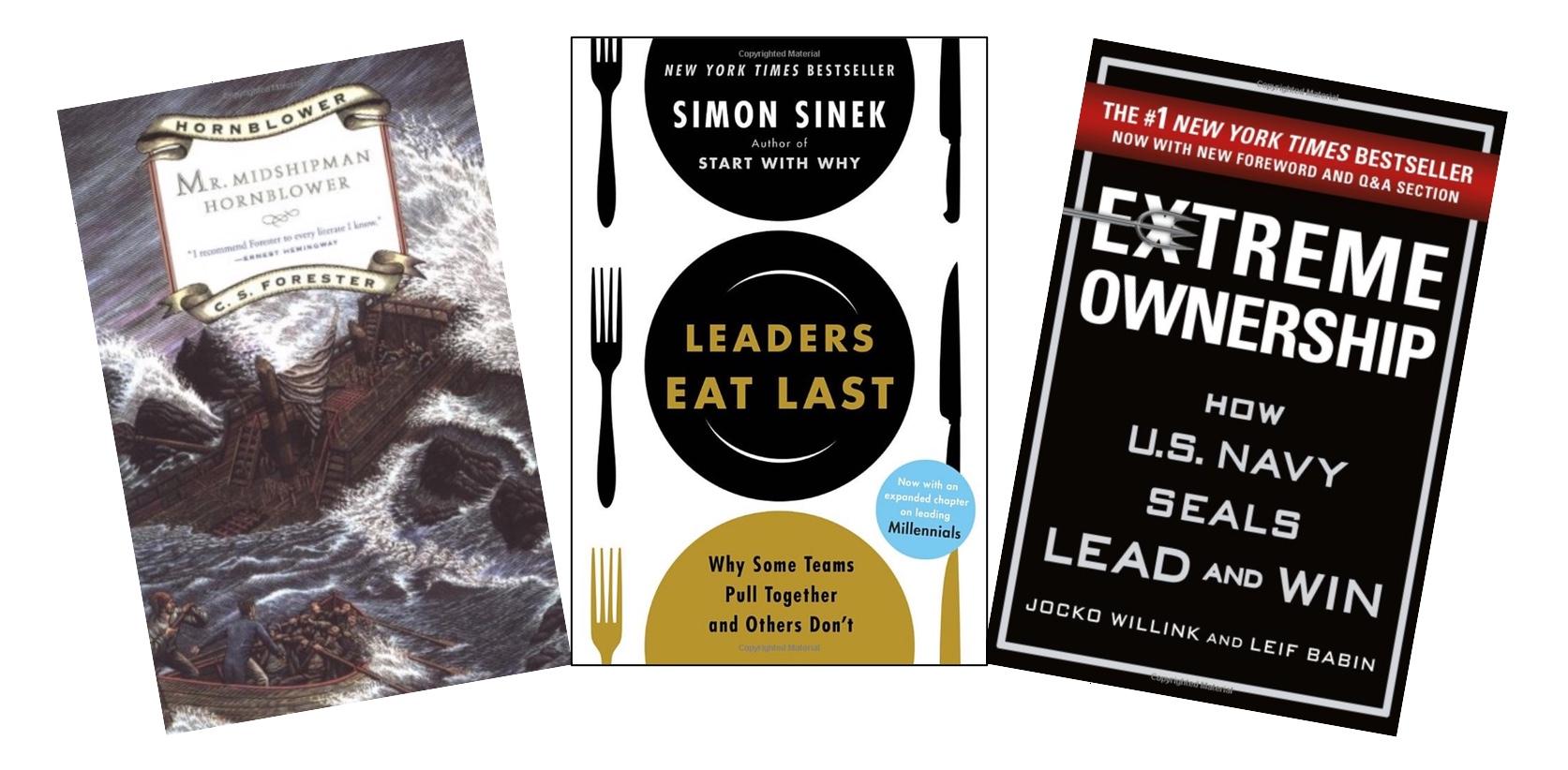 3 leadership books
