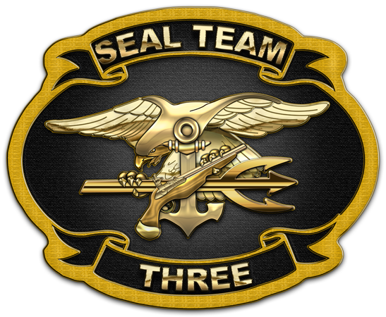US Navy SEAL Team Three [ST3][Patch][1.5]