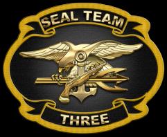 US Navy SEAL Team Three [ST3][Patch][1.5]